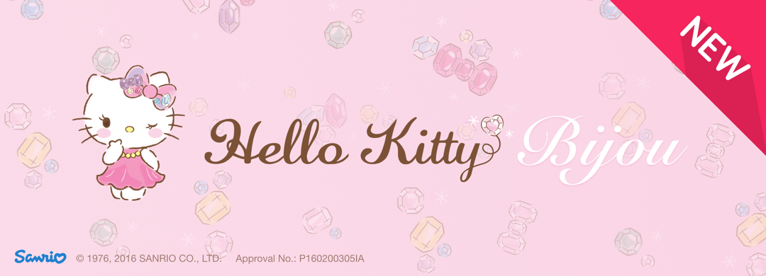 New Pack !! Hello Kitty Bijou.