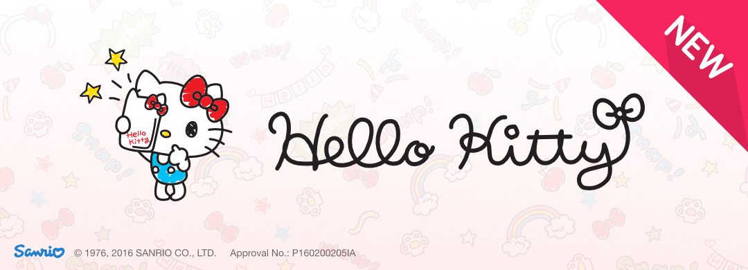 New Pack !! Hello Kitty Selfie