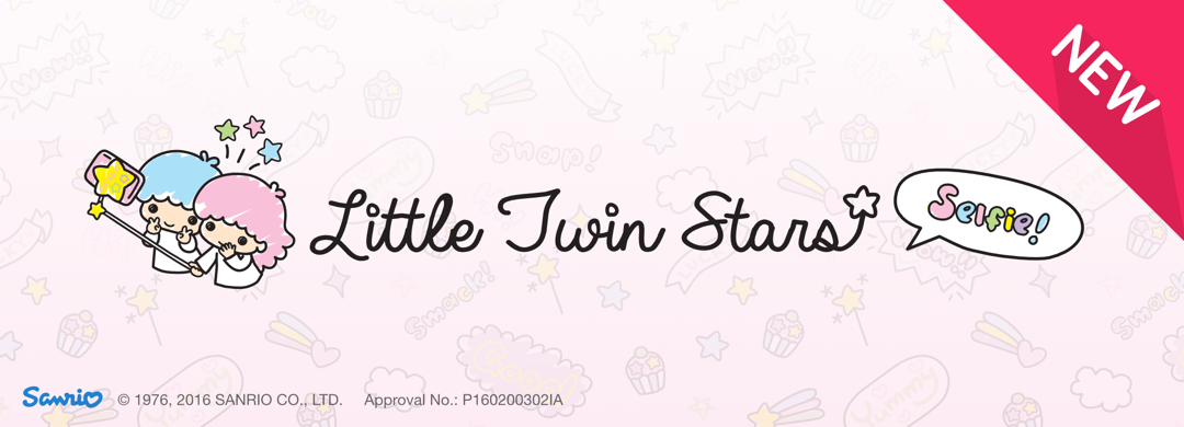 New Pack !! Little Twin Star Selfie