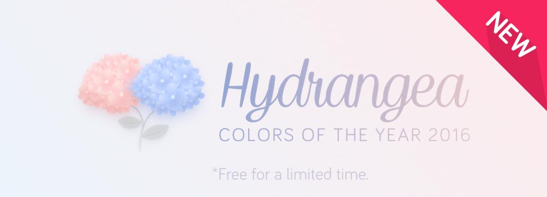 New Pack !! Hydrangea (Free)