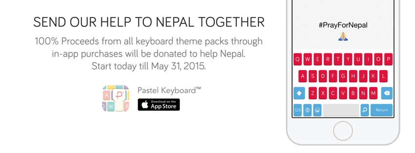 News Send our help to Nepal together